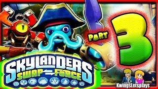 Skylanders Swap Force Wii U Walkthrough Part 3 Save The