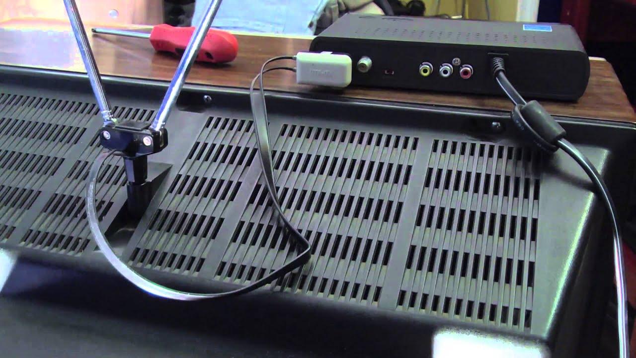 Hook up digital converter