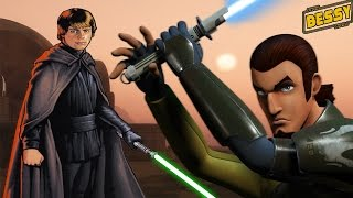 How Luke and Kanan Officially became Jedi Knights! - Explain Star Wars (BessY)