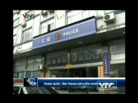 Giáo viên đánh hoc sinh chấn thương sọ não ở Trung Quốc