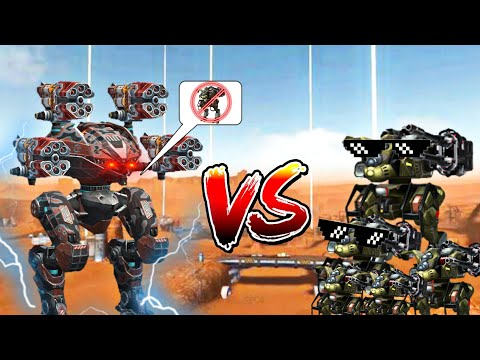 🔥 LEECH VORTEX VS COSSACK ARMY FUNNY GAMEPLAY | WAR ROBOTS