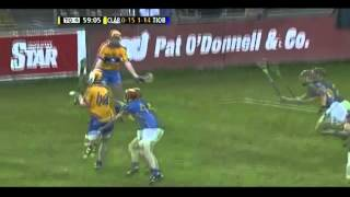 Last 5 Minutes of Clare v Tipperary - U21 Munster Hurling Final 2012