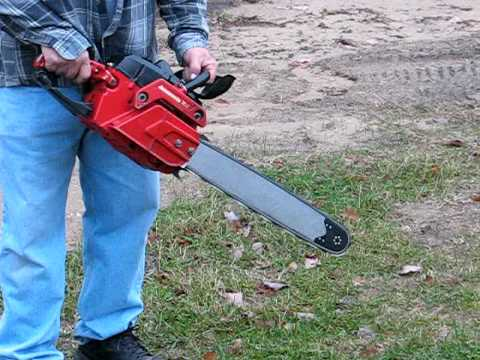 how to manually sharpen a chainsaw