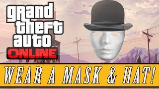 GTA 5: ONLINE How To Wear A Mask & Hat At The Same Time
