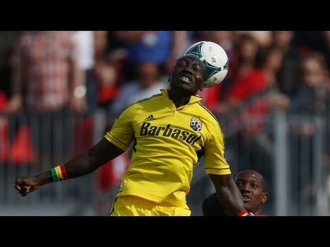 GOAL: Dominic Oduro finds back of the net