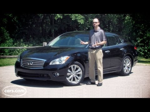 2013 Infiniti M35h Video Review -- cars.com