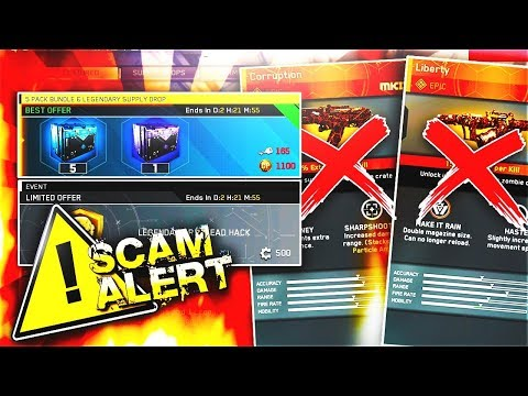 Infinity Ward is ROBBING YOU! NEW 5 PACK & LEGENDARY Supply Drop + LEGENDARY RIG HACK (NOT WORTH IT)