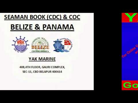 belize discharge book and coc -nigeria / ghana