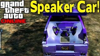 "GTA Online Secret ""Speaker Car"" (How To Get) [GTA V"