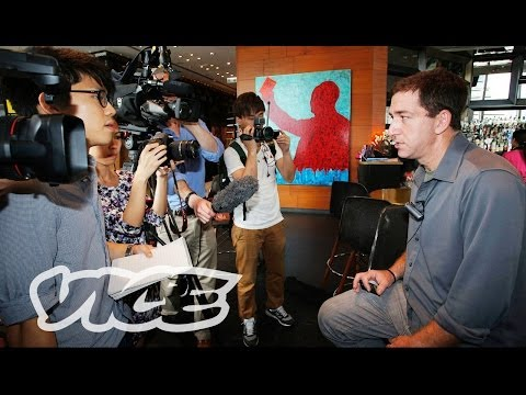 VICE Meets Glenn Greenwald: Snowden's Journalist of Choice