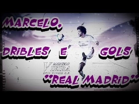 Marcelo Vieira, Dribles e Gols In Real Madrid 13/14 HD
