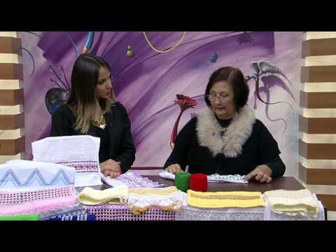 Mulher.com 30/05/2014 Ana Maria Ronchel - Bordado a fios contados