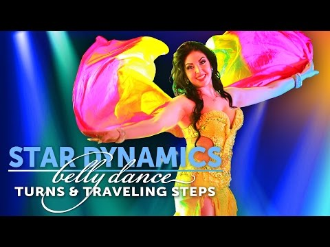 Star Dynamics - Belly Dance Turns and Traveling Steps with Vanessa of Cairo DVD Trailer