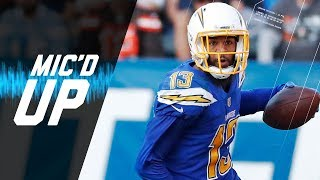 "Keenan Allen Mic'd Up vs. Browns ""Bosa, I Wanted Some Love!"" 