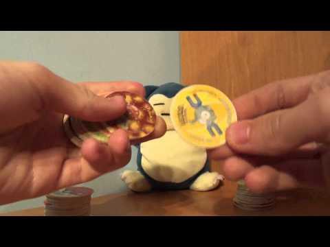 Pokemon Tazo 1 i 2 seria Rozpakowywanie przesyłki   Hikomikos