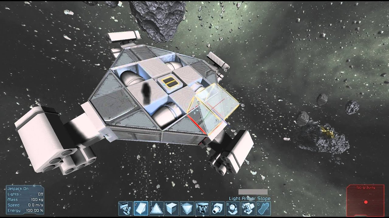 space engineers asteroid ship - photo #6