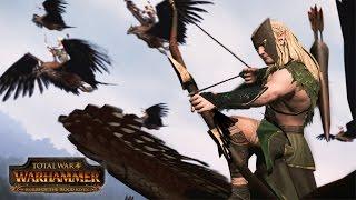 Total War: WARHAMMER - Realm of the Wood Elves Bejelentés Trailer