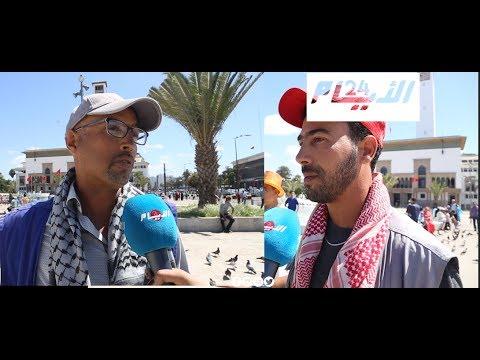 الهواتف تنافس مصوري نافورة ساحة محمد الخامس بالبيضاء