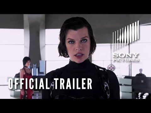 RESIDENT EVIL: RETRIBUTION (3D) - Official Trailer, Trailer for the next resident evil movie, resident evil retribution.
