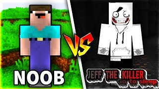 Troll NOOB Bằng JEFF THE KILLER Trong Minecraft!!