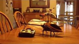 Double Horse 9101 R/C Helicopter Review And Flight