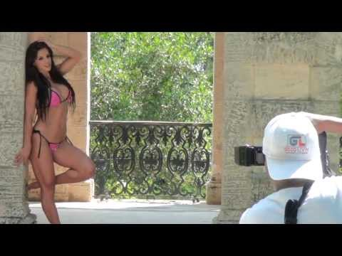 Fitness Model Michelle Lewin Bikini Shoot
