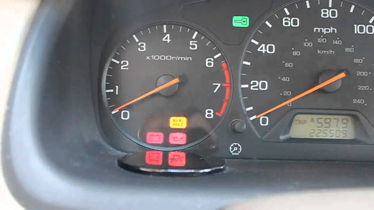 Honda Crv Check Engine Light Hd Pictures