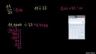 Primer 2 – Pretvorba ulomka na decimalno število