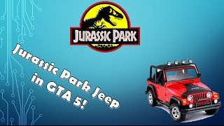 How To Get The Jurassic Park Car In GTA 5!