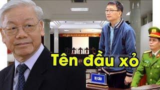 Trịnh Xuân Thanh lĩnh trọn cái tát của quan tòa vì khai ra đường dây rửa tiền của Nguyễn Phú Trọng