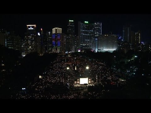 HKG marks Tiananmen anniversary as Beijing clamps down