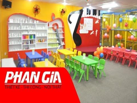 Thiết kế, thi công Khu vui chơi trẻ em - Quy Nhơn, Bình Định
