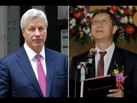 Banksters Caught Bribing Chinese Politicians