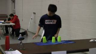 Sport Stacking: Winter Philly 2010 Finals