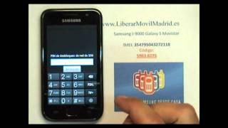 Liberar Samsung Galaxy S GT-I9000 Movistar Por Código