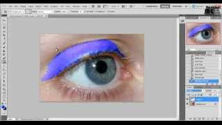 Göz Makyajı - Adobe Photoshop