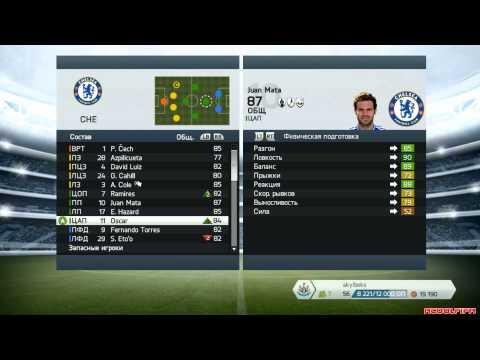 FIFA 14 Схема игры за Chelsea