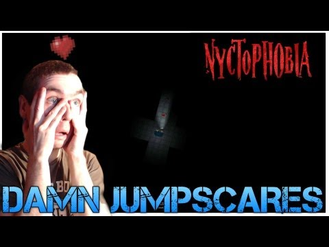 Nyctophobia - DAMN JUMPSCARES - Top Down Indie Horror Game Commentary/Facecam