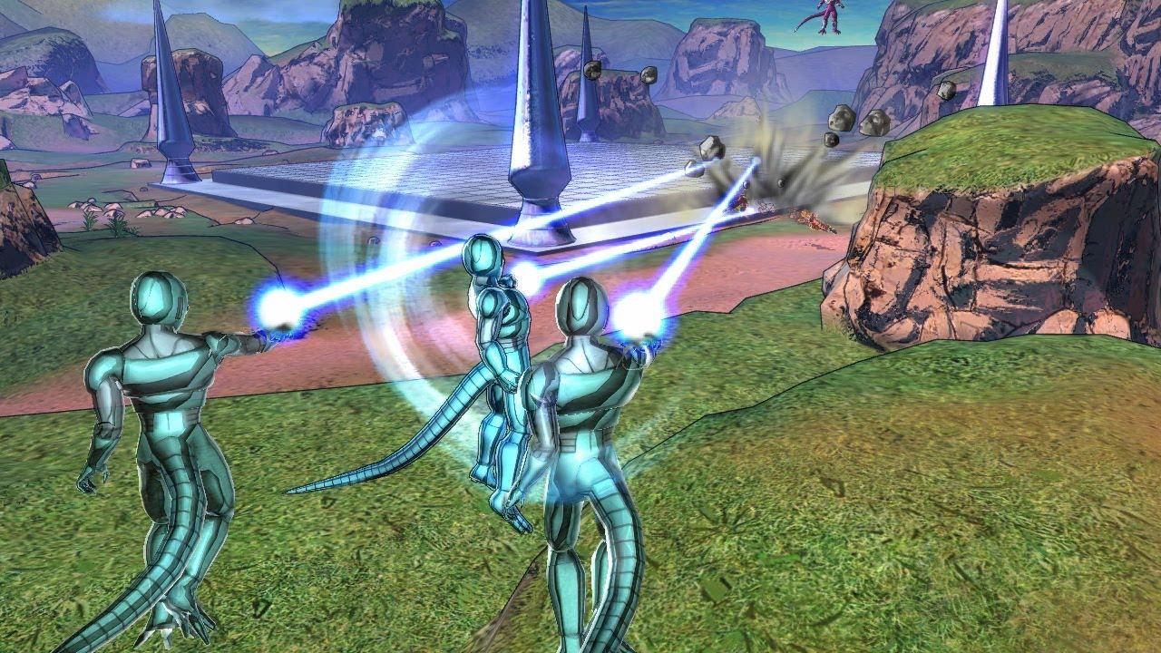 Dragon Ball Z: Battle of Z - Cooler Army, Dragon Ball Grab ...