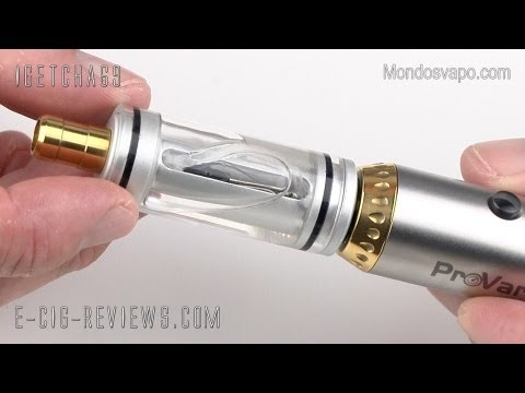 REVIEW OF THE MC TANK FOR ELECTRONIC CIGARETTES