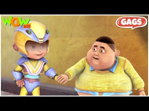 Funny scenes of Jintu  | Vir: The Robot Boy |  Part 6 - 30 Minutes of Fun - Live in India | WowKidz