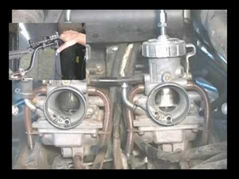 Yamaha Banshee Carb Sync