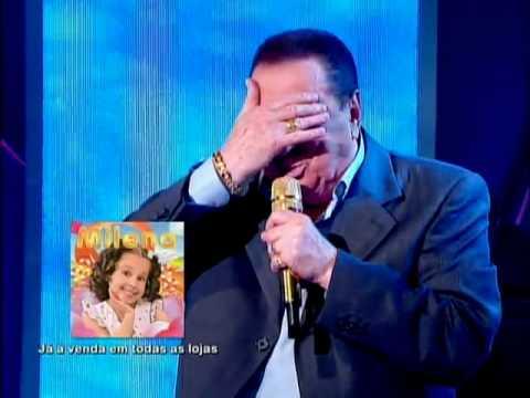 Raul Gil - Milena canta com Raul Gil
