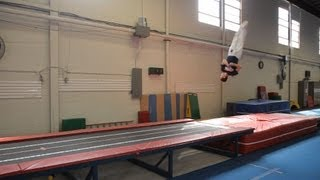 How To Do A Double Full Twist Gymnastics Lessons