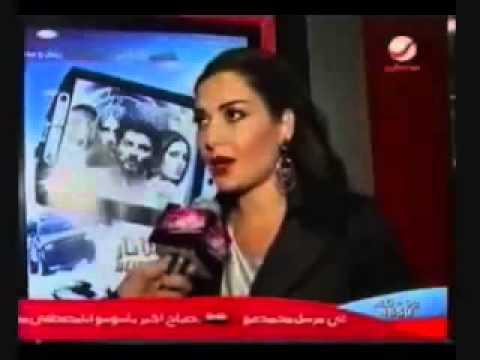 Cyrine Abdel Nour - On Rotana News Talking About Ramadan Mabrouk