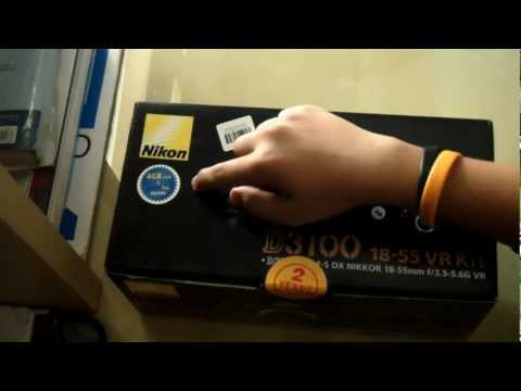 Nikon D3100 Unboxing -hpul_XlyFgo