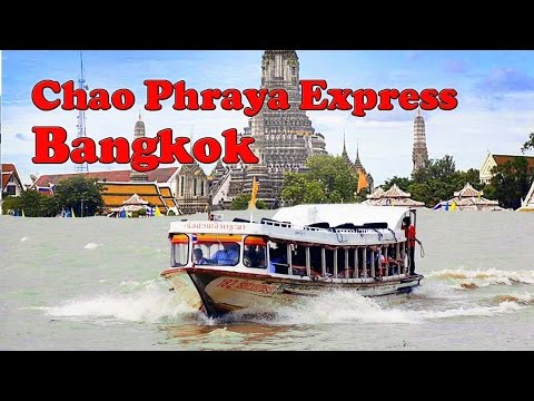les bateaux du chao phraya express à bangkok