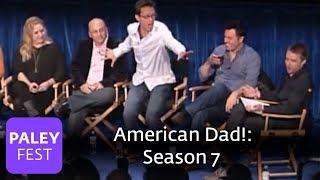 American Dad! Seth MacFarlane And Friends On Season 7's