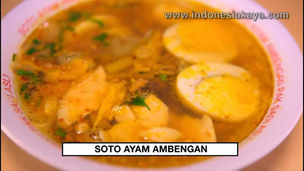 Soto Ayam Ambengan - YouTube