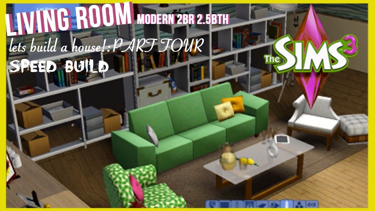 The sims 3 speed build modern style home part 4 for Modern house 8 part 3